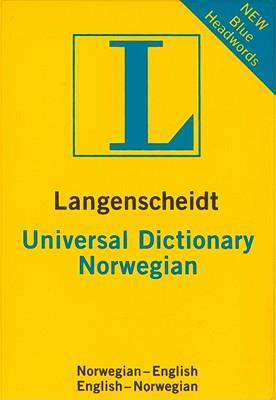 Langenscheidt Universal Norwegian Dictionary By Langenscheidt (EDT)